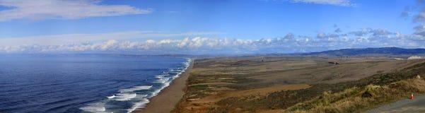 Пляж на этап Reyes стоковая фотография