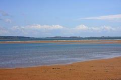 Пляж на Haverigg Стоковые Изображения RF