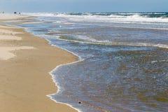 Пляж на Juist Стоковые Изображения RF