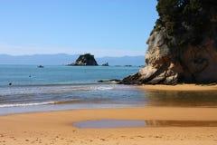 пляж Новая Зеландия стоковые фото