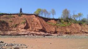 Пляж Новой Шотландии стоковые изображения rf