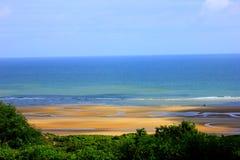 Пляж Нормандии omaha стоковые изображения rf