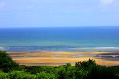 Пляж Нормандии omaha стоковые фото