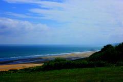Пляж Нормандии omaha стоковая фотография rf