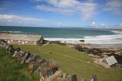 пляж Нормандия стоковая фотография rf