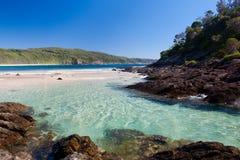 пляж одно Стоковое Изображение RF