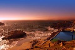 Пляж океана, Сан-Франциско Стоковые Изображения RF