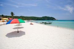 пляж ослабляет Стоковые Фотографии RF