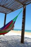 пляж ослабляет Стоковое Фото
