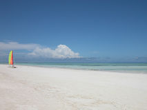 пляж ослабляя Стоковые Фотографии RF