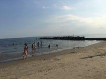 Пляж острова кролика Стоковая Фотография