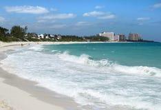 Пляж острова рая Стоковая Фотография RF