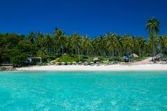 Пляж острова Стоковая Фотография RF