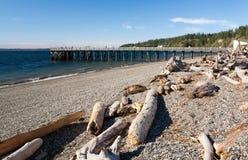 Пляж парка пункта каяка Стоковое Изображение RF