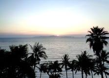 Пляж Паттайя - Таиланд стоковое изображение rf