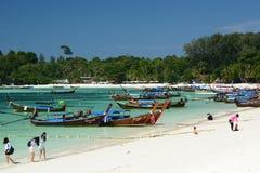 Пляж Паттайя Ko Lipe Провинция Satun Таиланд Стоковые Изображения