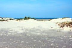 пляж песочный Стоковое Изображение RF