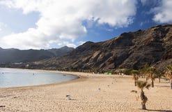 пляж песочный Стоковое фото RF