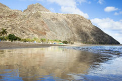 пляж песочный Стоковое Изображение