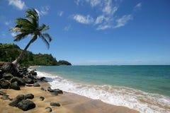 пляж песочный Стоковое Фото
