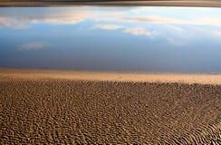 пляж песочный Стоковая Фотография