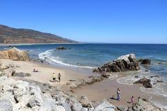 Пляж положения Калифорнии стоковое изображение rf