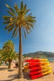 Пляж Порта de Soller стоковая фотография rf