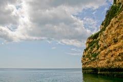 пляж Португалия algarve Стоковое фото RF