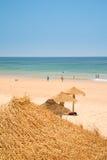 пляж Португалия algarve Стоковые Изображения