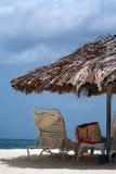 пляж предпосылки Стоковые Фото