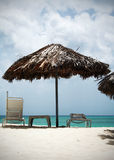 пляж предпосылки Стоковая Фотография