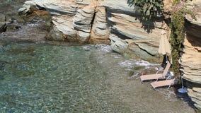 пляж приватный Стоковые Изображения