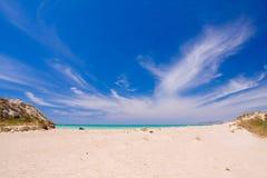 пляж присицилийский стоковое изображение rf