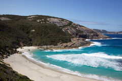 пляж продырявит семги Стоковое Изображение RF