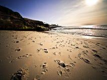 пляж пятнает солнце Стоковое Изображение RF