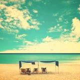 пляж ретро стоковые изображения