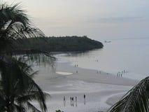 Пляж Сантьяго на острове Camotes, Cebu, Филиппинах стоковые изображения
