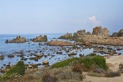 пляж Сардиния Стоковые Изображения