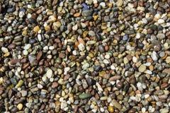 Пляж сделанный из камешков Стоковые Фото