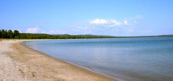пляж северный Стоковые Фото
