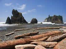 пляж северо-западный Стоковые Изображения RF