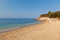 пляж сиротливый Стоковые Фотографии RF