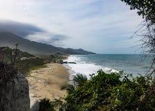 пляж славный стоковое изображение