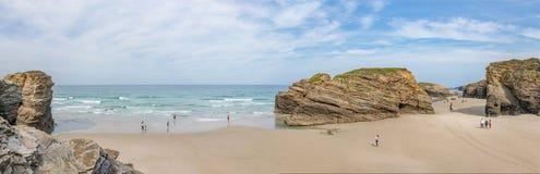 Пляж соборов Стоковое Изображение RF