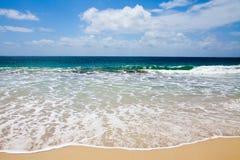 пляж совершенный Стоковые Изображения