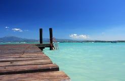 пляж совершенный стоковая фотография rf