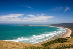 пляж солнечный Стоковые Изображения