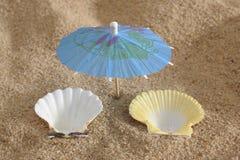 пляж солнечный Стоковое фото RF