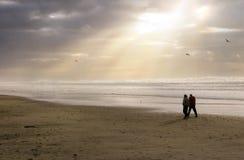 пляж спокойный Стоковая Фотография