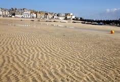 пляж струится песок стоковые фотографии rf